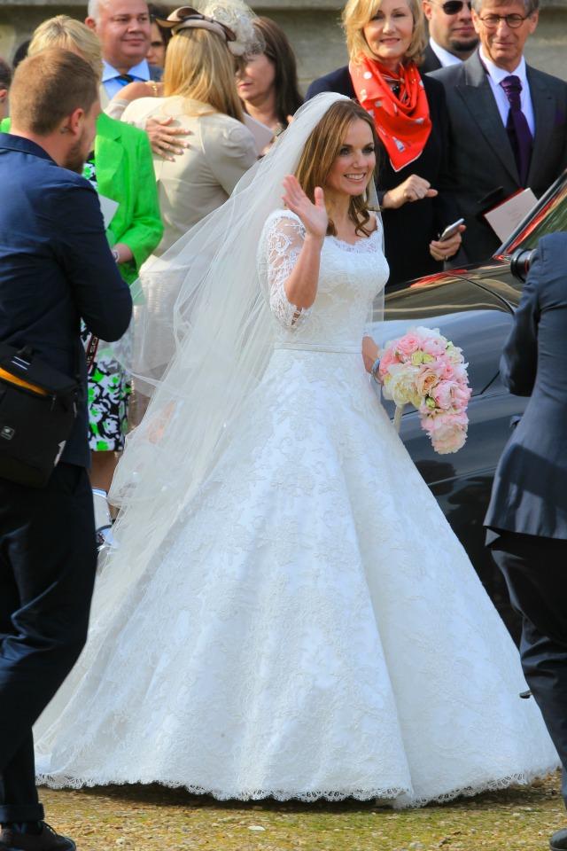 Geri Halliwell marries Christian Horner