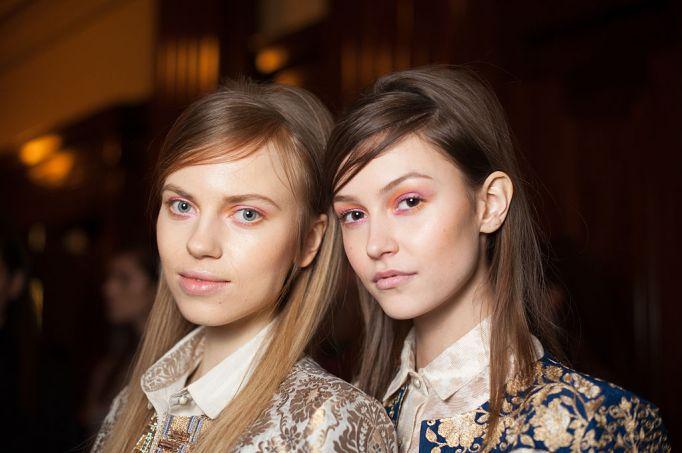pink and orange eyeshadow Fashion DNA - Pakistan