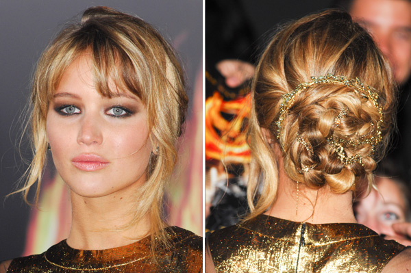 Jennifer Lawrence at The Hunger Games premiere