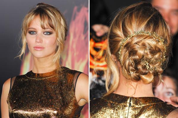 Jennifer Lawrence -- The Hunger Games premiere