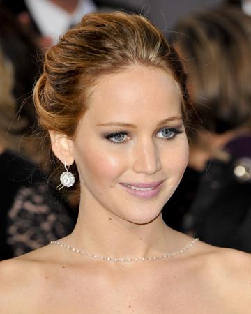 Jennifer Lawrence at the 2013 Oscars