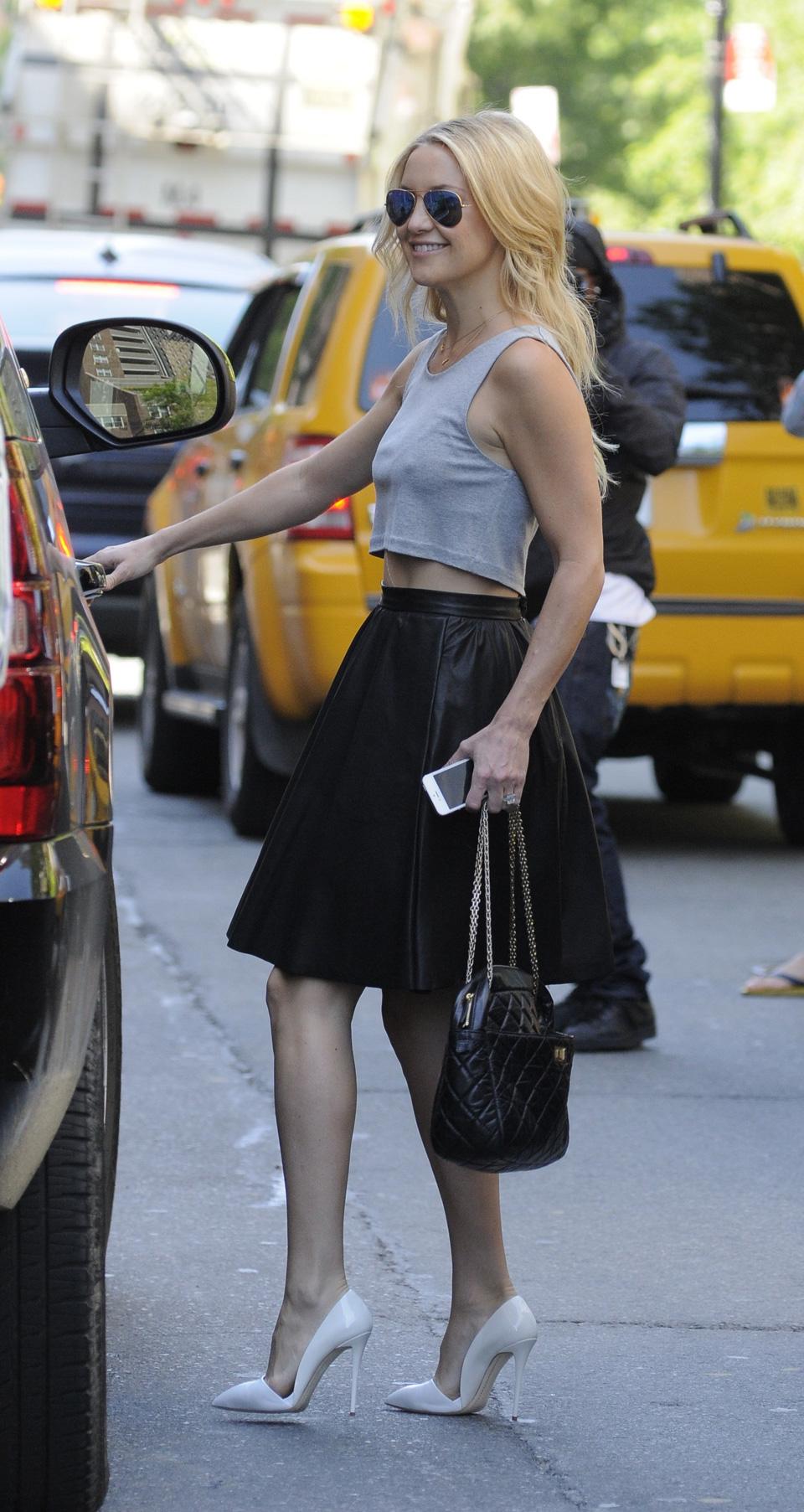 Get the look: Kate Hudson's cute crop top