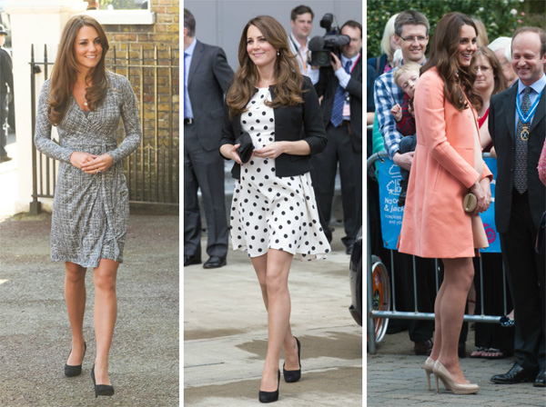 cf16562597d07 Get the look: Kate Middleton's maternity style – SheKnows