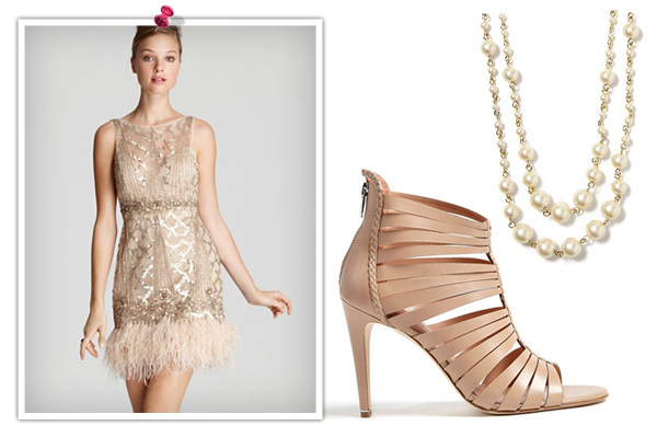 Incorporate flapper-inspired feathers