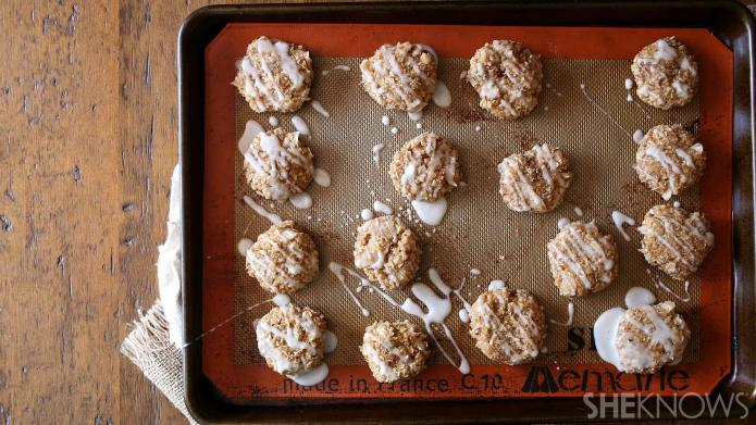 No-bake maple cookies are easily made