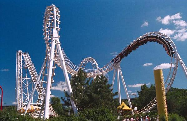 Young children and amusement park vacations