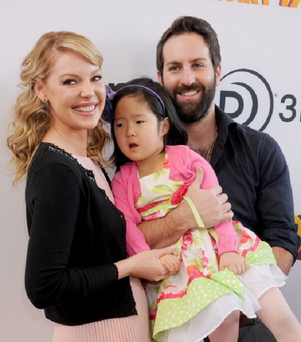 Katherine Heigl adopted kids