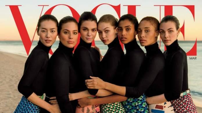 Vogue's Attempt at Diversity Draws Major