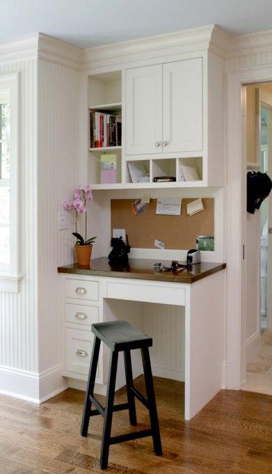 Kitchen desk station