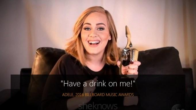 Adele 2016 BBMAs