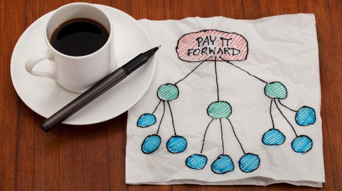 Everyday inspiration: Pay it forward