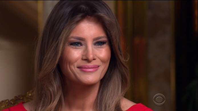 Is This Melania Trump's Cry for