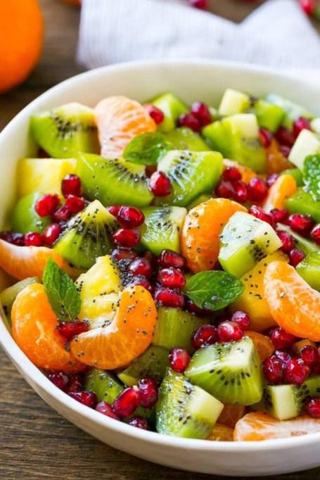 Easy Winter Breakfast Ideas | Winter Fruit Salad