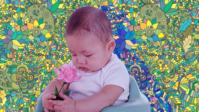 Hippie Baby Girl Names for Groovy