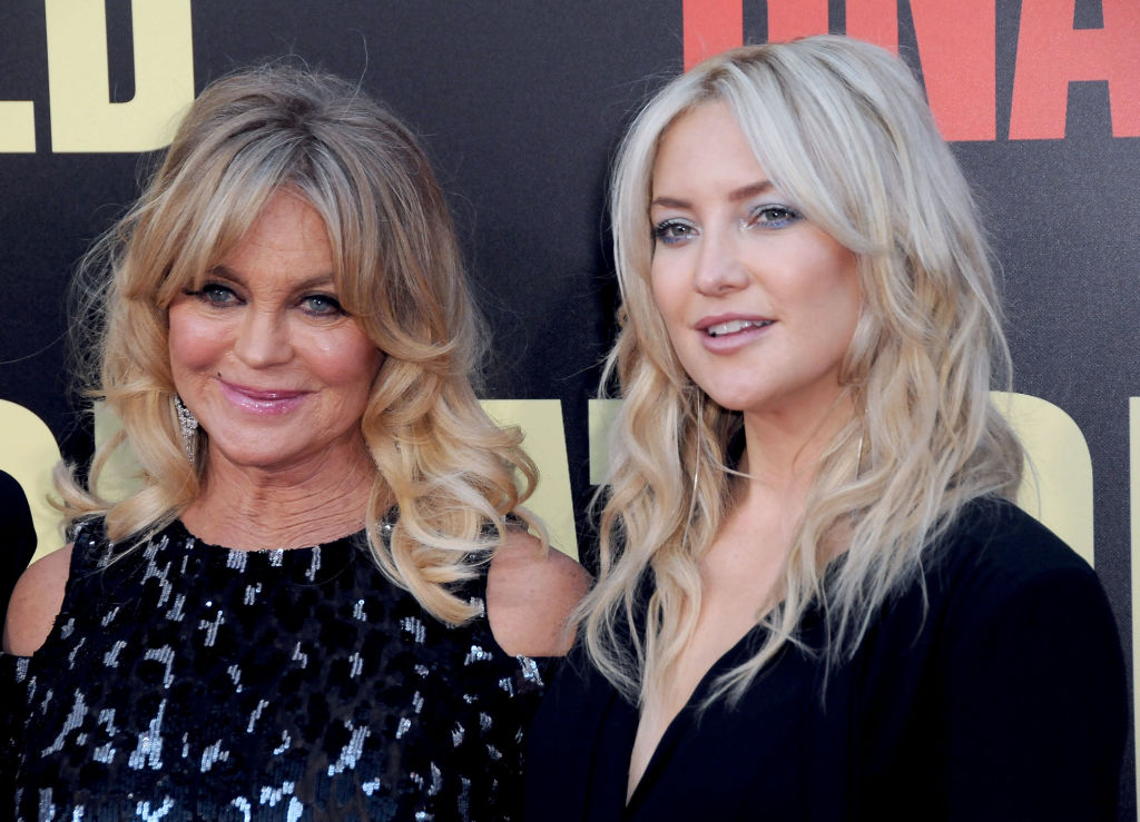 Kate Hudson and Goldie Hawn Ghost Story