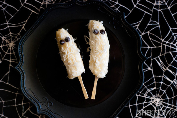 3 ghostly Halloween treats