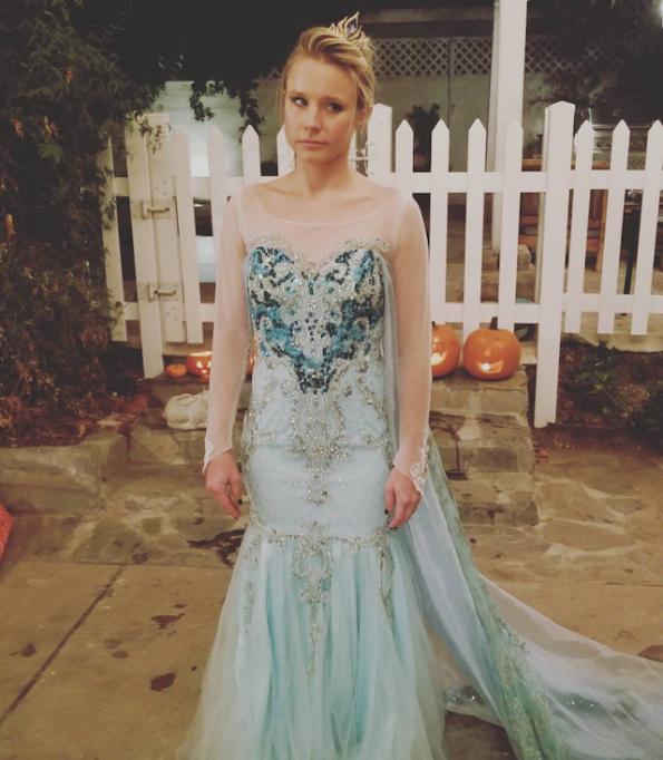 Best celebrity Halloween costumes 2017: Kristen Bell