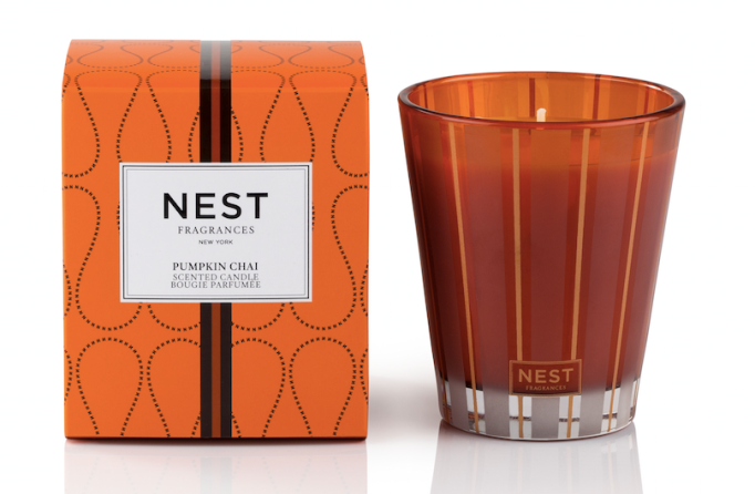 Pumpkin Beauty Products to Buy Now: Nest Fragrances Pumpkin Chai Scented Candle | Fall Beauty 2017
