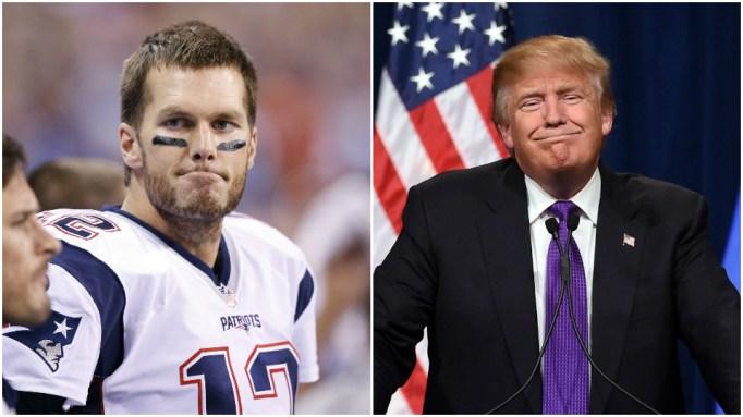 Tom Brady, Donald Trump