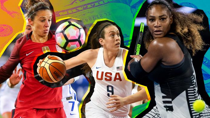 9 Female Athletes Demanding Equality