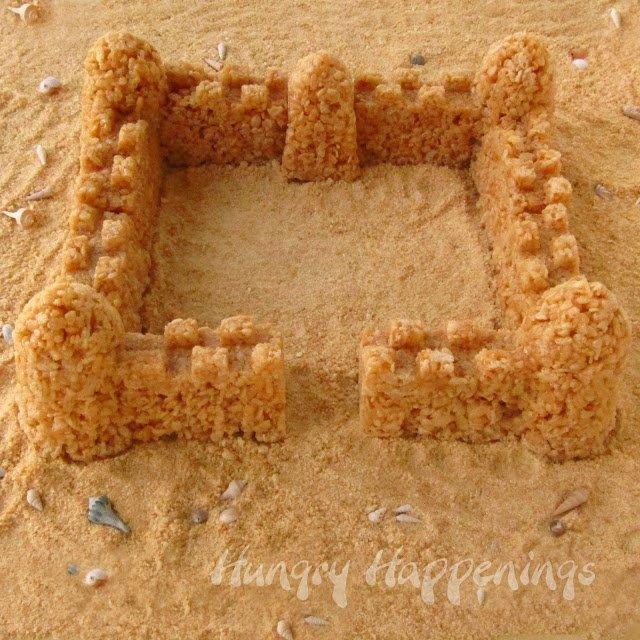 Rice Krispies castle