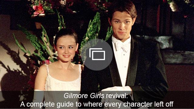 gilmore girls revival characters slideshow