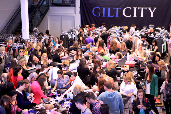 Gilt City Warehouse Sale