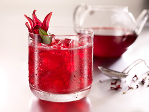 Ginger Hibiscus Punch
