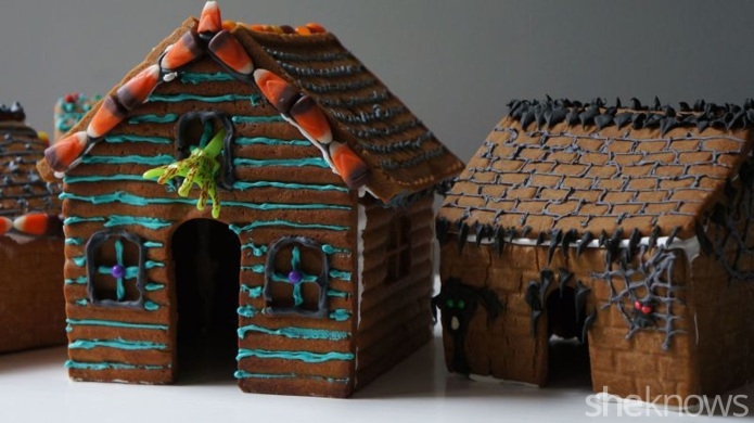 Haunted gingerbread house is as fun