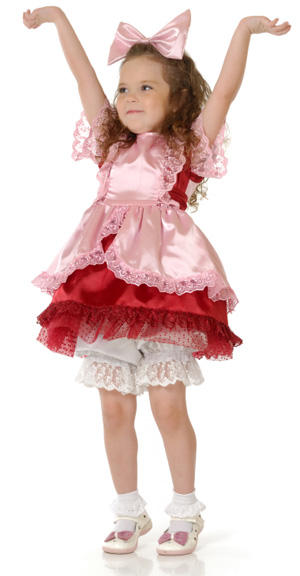 Girl in Princess Outfit