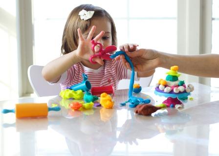 Girl with developmental delays