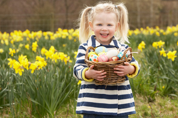 Girl with easter basket | Sheknows.com