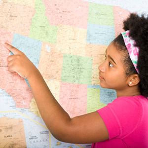 Girl with map | Sheknows.com