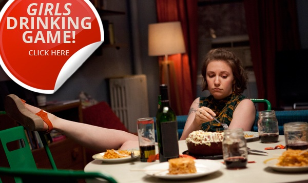 Girls drinking game