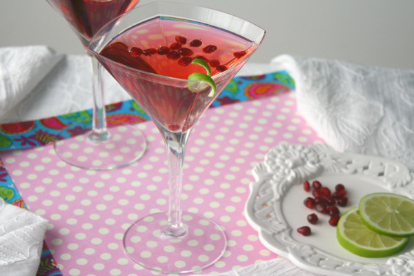 Pink Pomegranate Cocktail