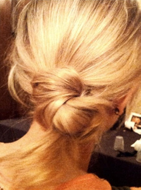 Sweet But Sassy Knotted Chignon