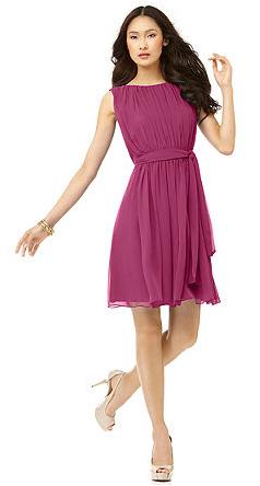 Girly pink dress