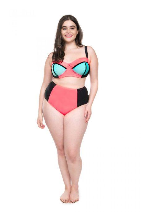 Moxi Blu Colorblock Bikini