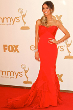 Giuliana Rancic Red Dress