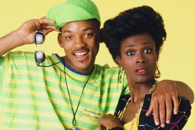 Will Smith and Janet Hubert fresh prince of bel-air