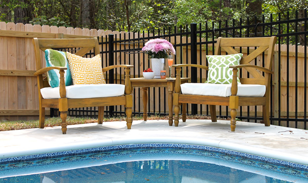 Update your outdoor cushions