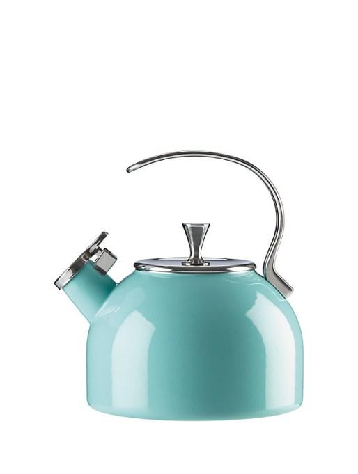 Kate Spade baby blue tea kettle