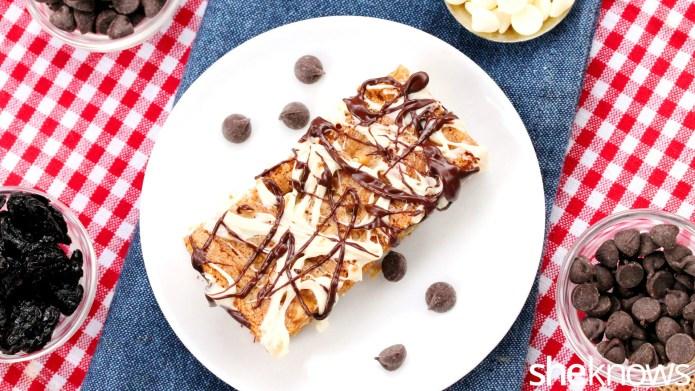 White chocolate chip and tart cherry