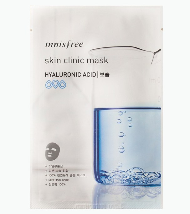 Alternatives To Retinoids | Innisfree Skin Clinic Mask with Hyaluronic Acid