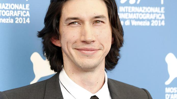 Adam Driver looks like a precious