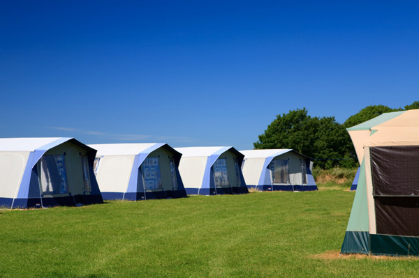 Glamping tents