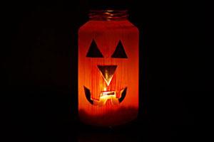 Halloween votive