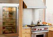 Sub-Zero Glass Door Refrigerator