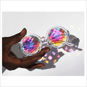 Futuristic Kaleidoscope Lenses