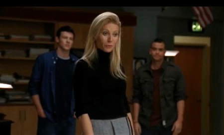Gwyneth Paltrow does Forget You on Glee
